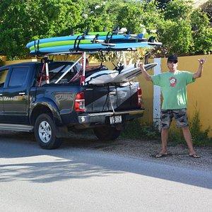 The Surf School on Wheels !