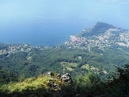 Passo di Cuvignone e Belvedere scendendo verso San antonio