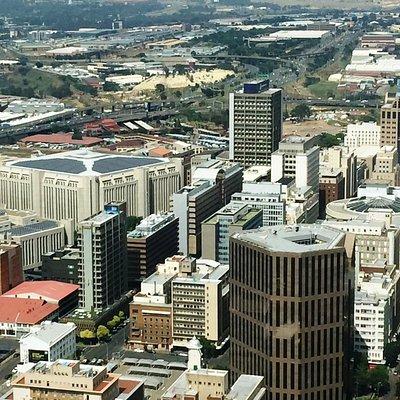 Widok z Carlton Center w Johannesburgu 3
