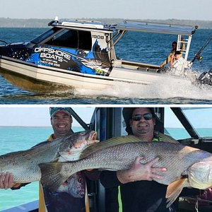 Jewfish double hook up!