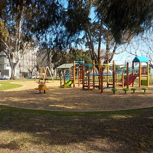 Playground at South east end of park