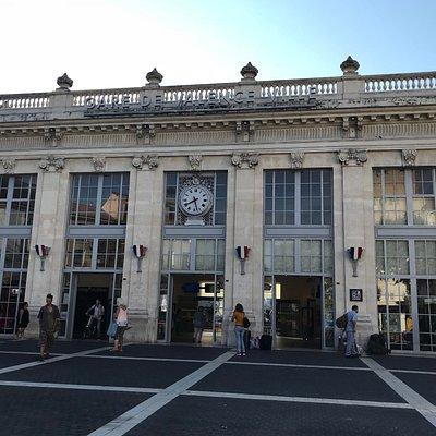 Gare de Valence.