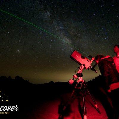Discover Experience bajo uno de los mejores cielo del mundo.