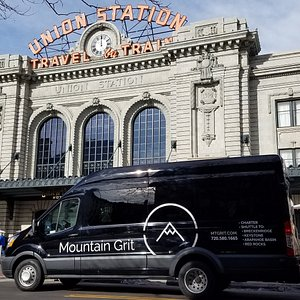 One of our pick up spots is Union Station!