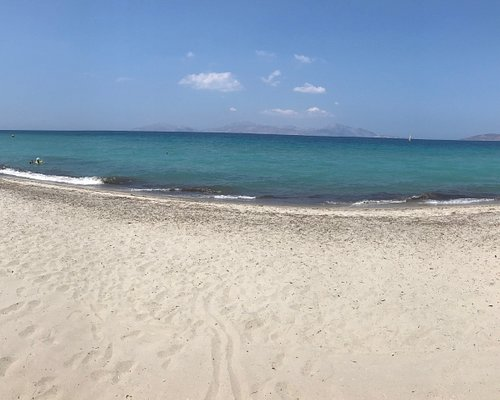 Marmari Beach im Juli 2018