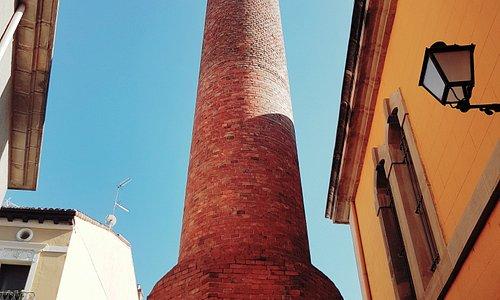 Torre de la antigua Fábrica de Tabacos de Logroño