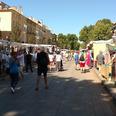 Mercado de Aix