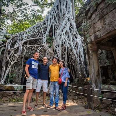 We with best friends in Angkor-Siem Reap
