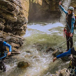 Canyoning en Haute-Savoie avec Manu