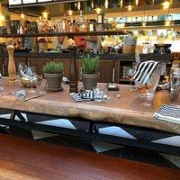 table et ilot central