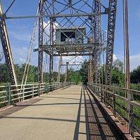 The Swing Bridge at Schneider's Passage, Romeo Road