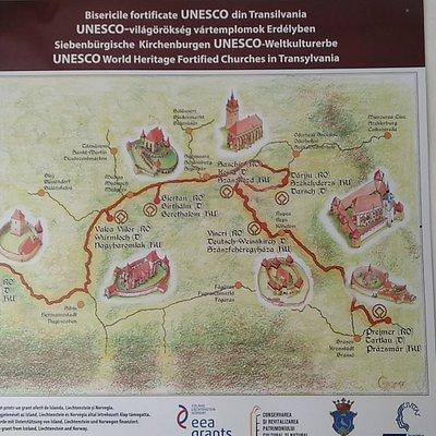 Mapa de monumentos de los alrrededores