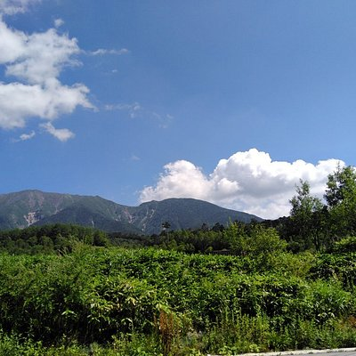 真夏日の御嶽山