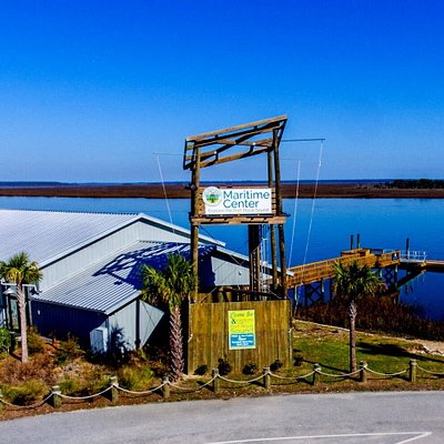 Port Royal Sound Foundation Maritime Center on Chechessee River