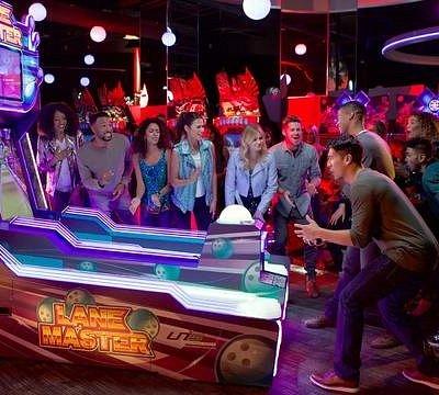 Bowling arcade style!