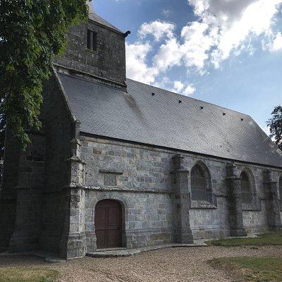 Magnifique chapelle qui se trouve à côté du château de Cany-Barville les visites sont rare et c'