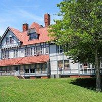 Back of Emlen Physick Estate