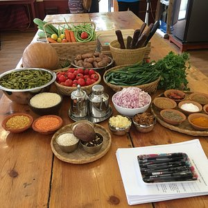 Seasonal, organic ingredients, delicious spices & recipes to take home.