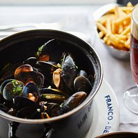 Moules Frites and Belgian Beer on tap