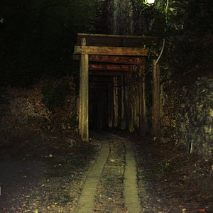 The dark path to Capponi Palace