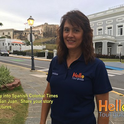 Hello! I am Debbie, your friendly tour guide that specializes in Old San Juan since 1998.