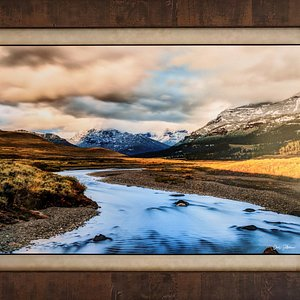 We offer custom framing for any wall size or budget.  Free shipping within the United States!