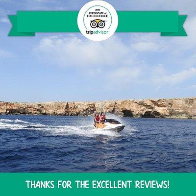 Jet ski experience in Menorca