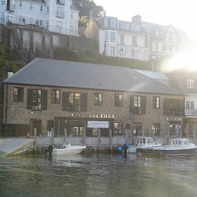 The Old Sardine Factory, this is where our climbing wall is situated.