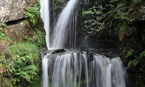 Waterfall a short walk from town