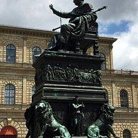 Maximilian I Joseph Monument in Munich