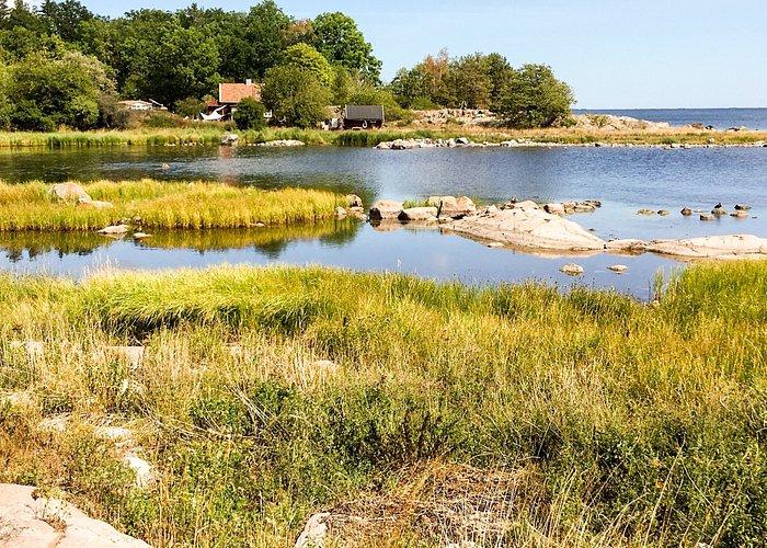 Views from Skogsslingan path.