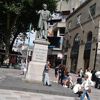 John Batchelor Statue in Cardiff