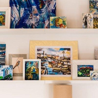 Art displayed