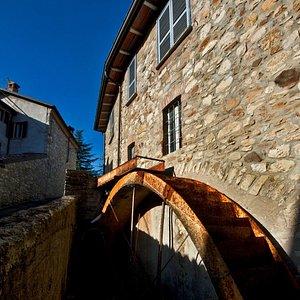Mulino di San Giuseppe, particolare del canale