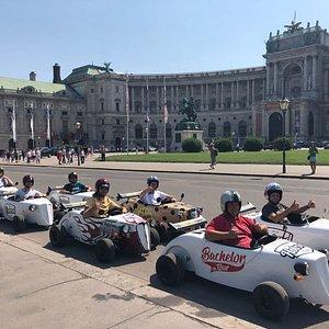 Fototermin bei der Hofburg