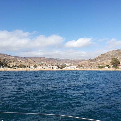 Navigation depuis Pasito Blanco jusqu'à Playa del Cura