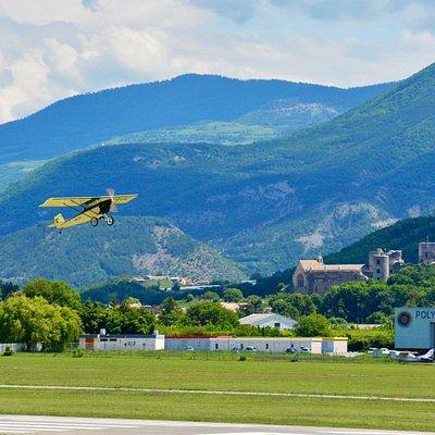 Vol en avion ULM Vintage Pietenpol - Aérodrome de Gap-Tallard !