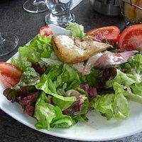 Salade de gésiers