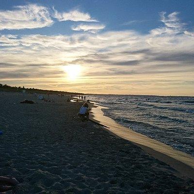 Plaża na Wyspie Sobieszewskiej
