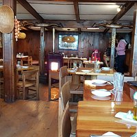 Restaurante da Posada — Los Cóndores — interior