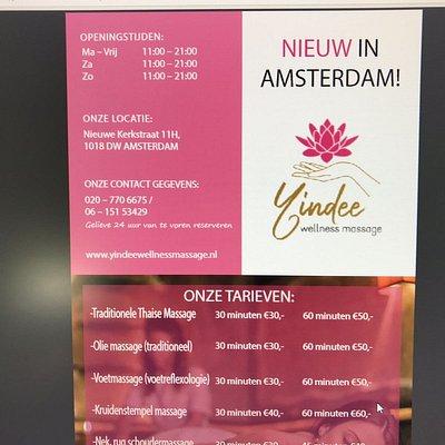 Yindee wellness massage