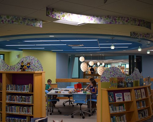 Reimagined Children's Area; Think Tank makerspace