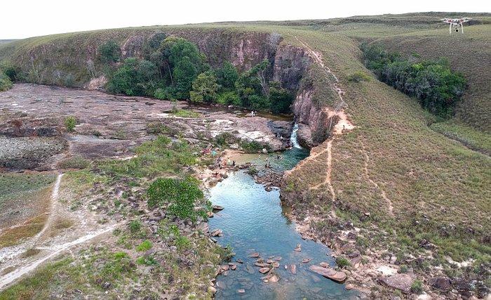 Vista aérea da Quebrada do Pacheco