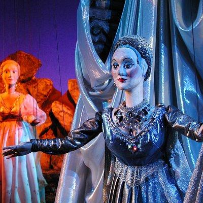 Königin der Nacht mit Pamina aus Mozart`s Zauberflöte