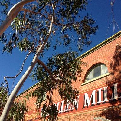 Winters day at the Bendigo Woollen Mills