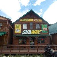 Subway, MP 238.6, Parks Hwy, Denali National Park & Preserve, near Healy, Alaska.