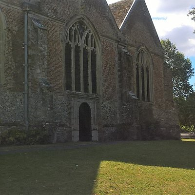 Front of St Mary's