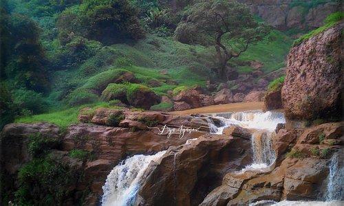 Cimarinjung Waterfall taken on March 2014