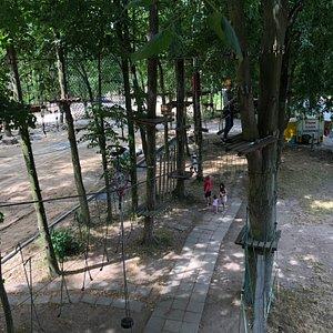 Tarzanpark Hochseil-Einrad