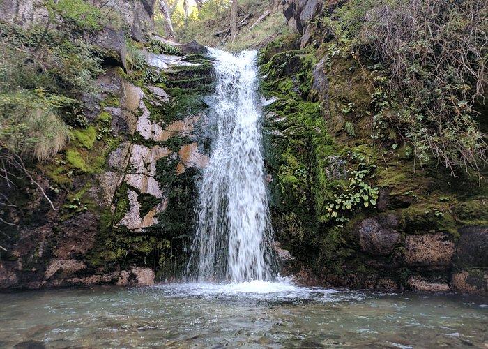 La Cascada al final de recorrido